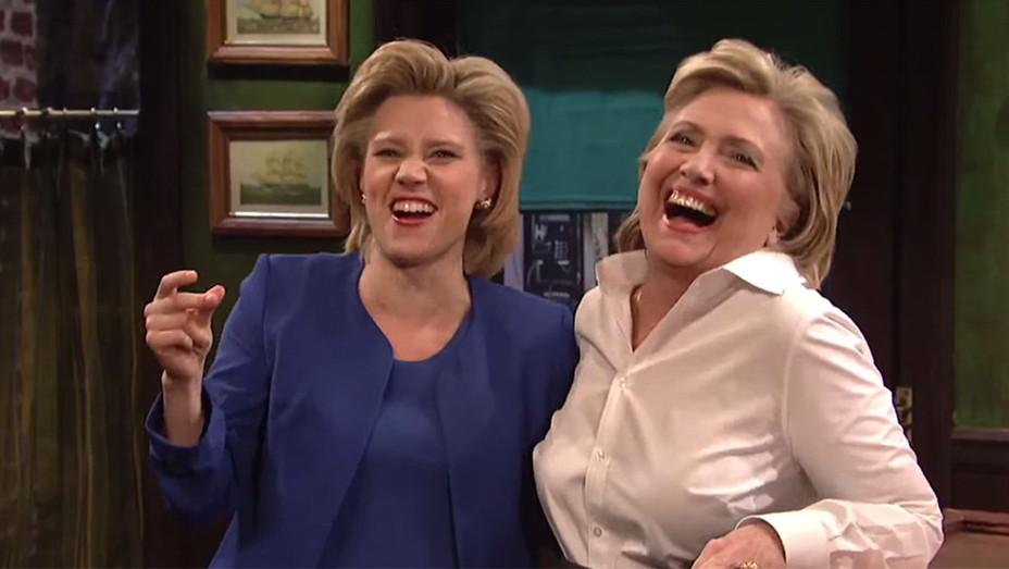 Kate McKinnon and Hillary Clinton 4 - SNL - Screenshot - H - 2016