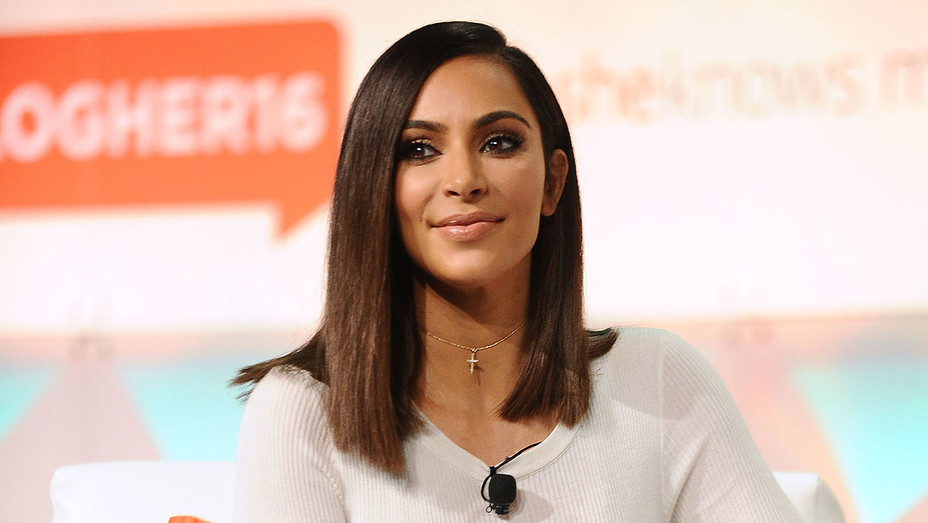 Kim Kardashian - #BlogHer16 Conference - Getty - H - 2016