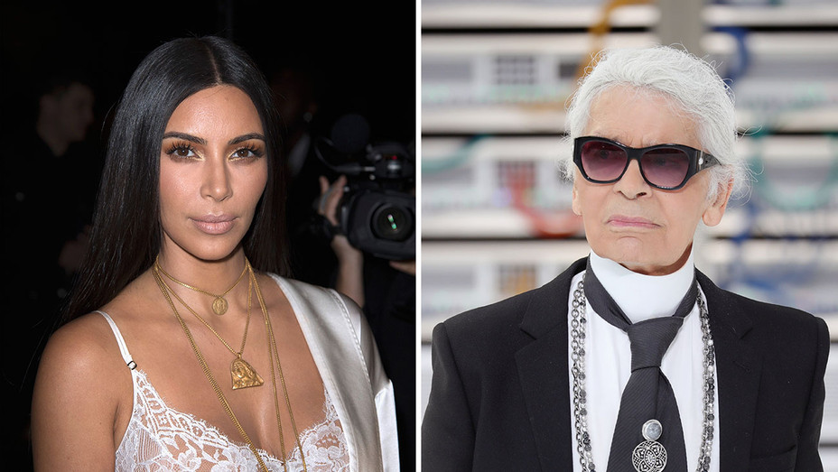 kim kardashian and karl lagerfeld_Split - Getty - H 2016