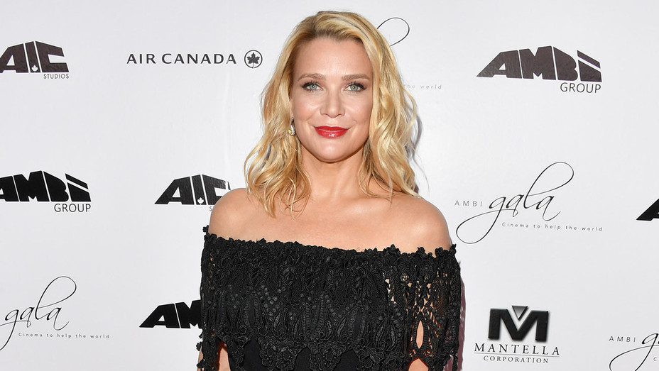 Laurie Holden - AMBI Gala - Getty - H - 2016