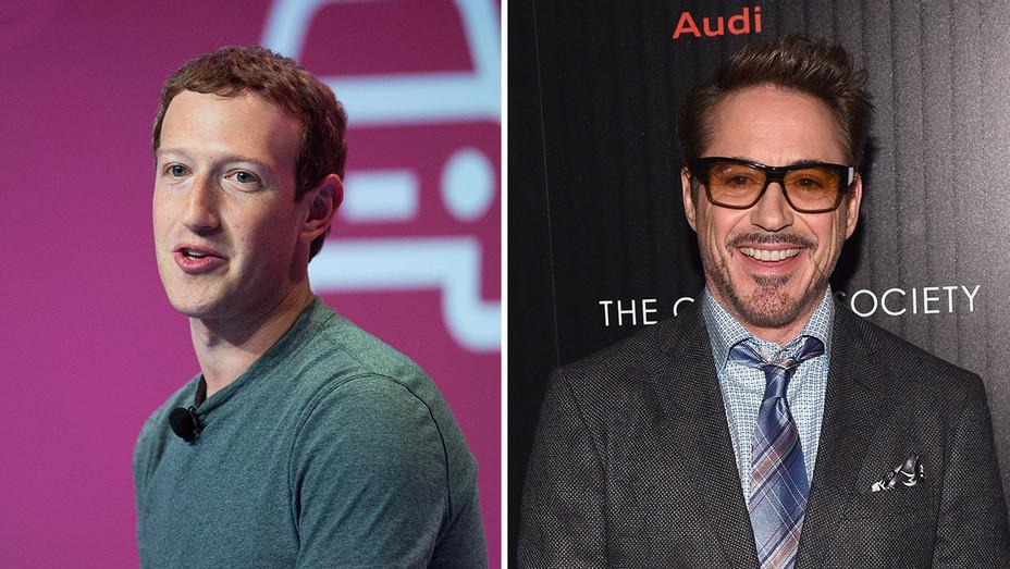 Mark Zuckerberg and Robert Downey Jr_Split - Getty - H 2016