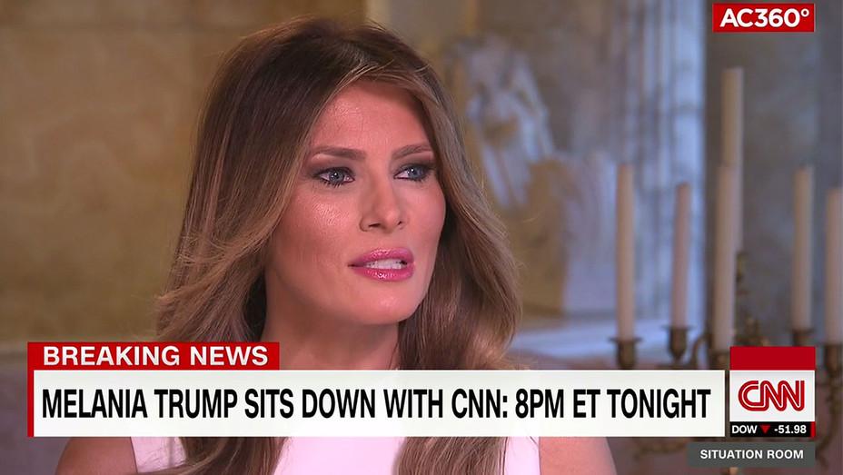 Melania Trump CNN Interview - Screenshot - H - 2016