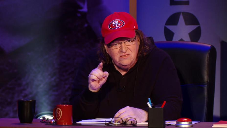 Michael Moore in Trumpland Still H 2016