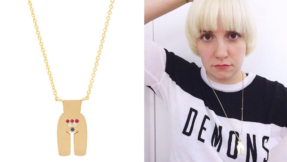 Necklace - Lena Dunham - H - 2016