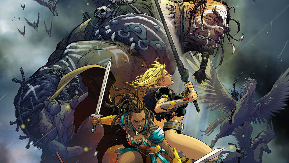 Odyssey of the Amazons Cover 1 - H - 2016