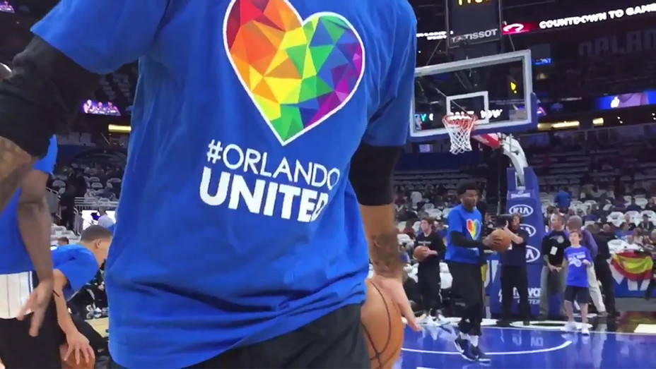Orlando Magic Pulse Tribute H 2016
