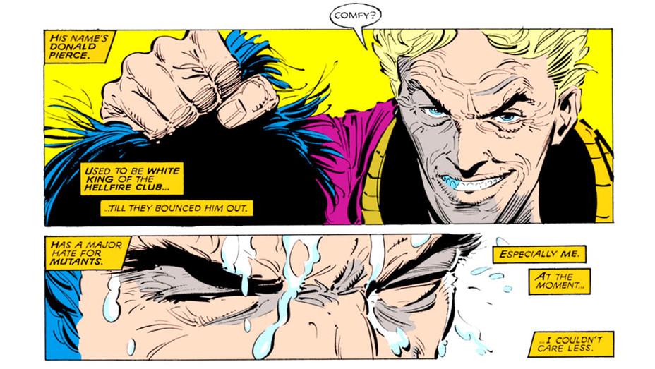 Donald Pierce Logan Comic - Marvel Entertainment -Publicity -H 2016