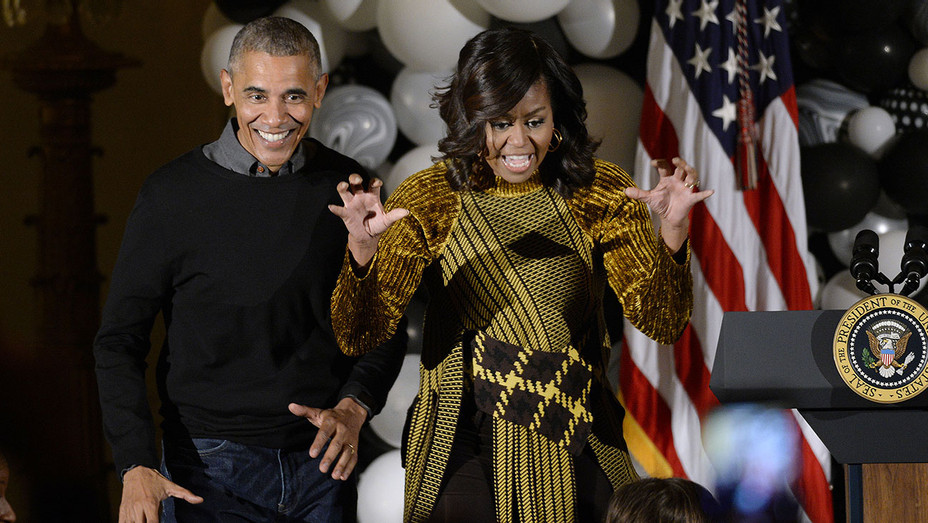 President Obama And First Lady Host Halloween Event At The White House - H - 2016