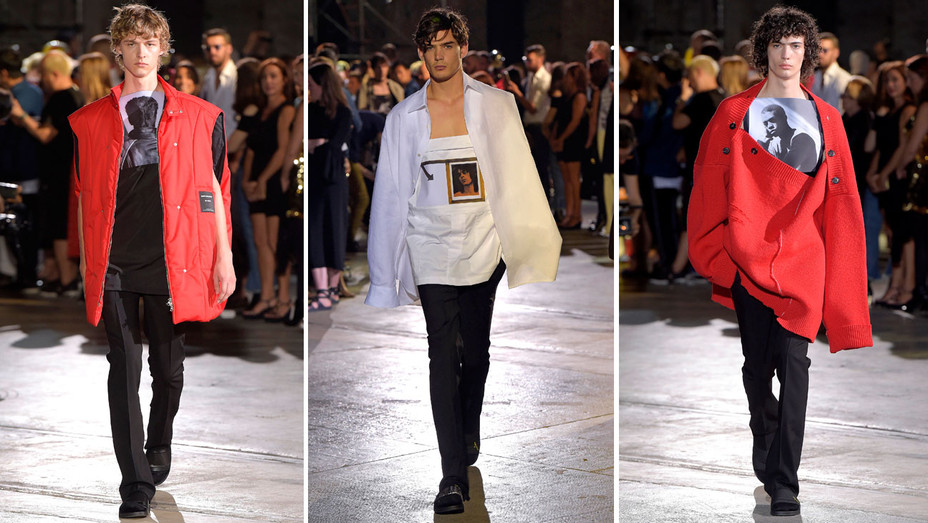 Raf Simons Fashion Show - Split - H - 2016