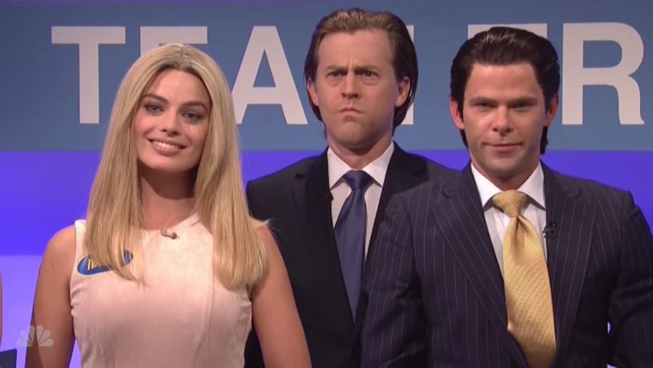 Margot Robbie on SNL - H 2016