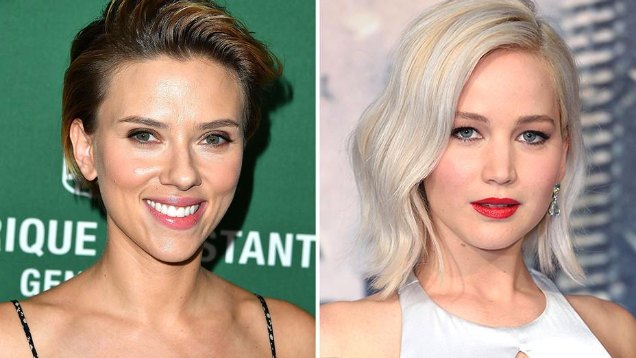 Scarlett Johansson and Jennifer Lawrence Split-Getty-H 2016