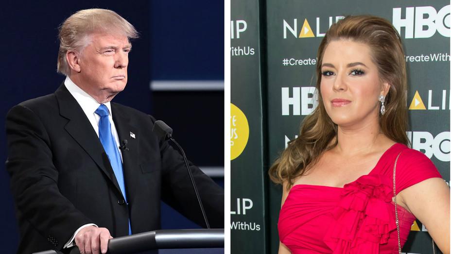 Donald Trump, Alicia Machado split - Getty - H 2016