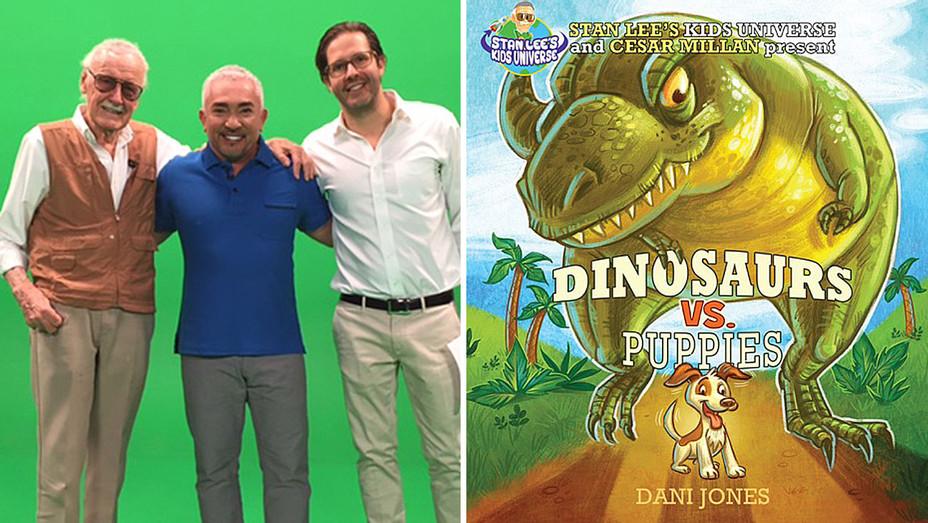 Stan Lee's Kids Universe - Book Cover-Dino vs Puppies Split-H 2016