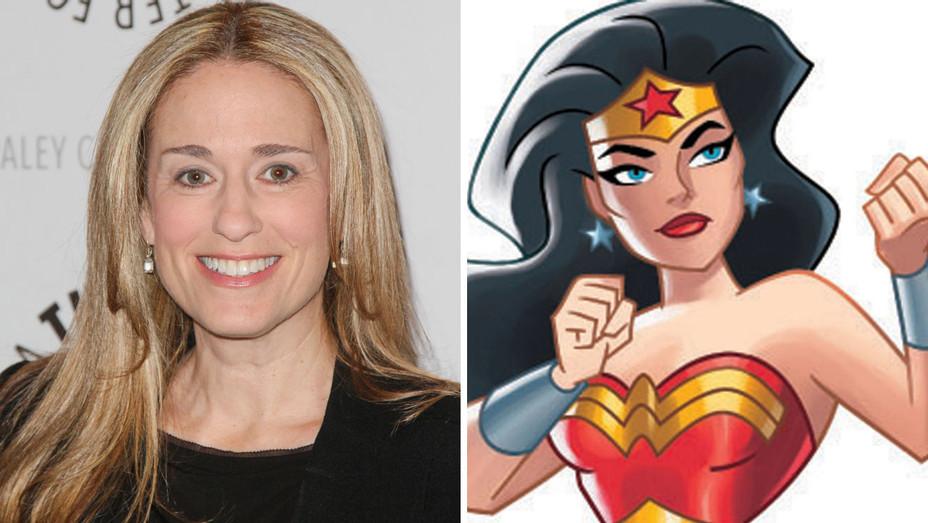 Susan Eisenberg  Justice League Split - H -2016
