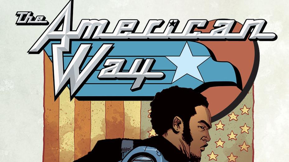 American Way 2 Cover - DC Entertainment - Publicity - P 2016