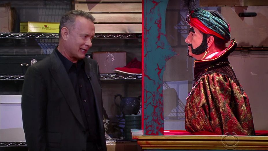 Tom Hanks and Zoltar — H 2016