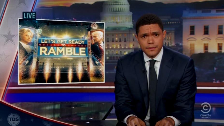 Trevor Noah Daily Show post debate - H 2016