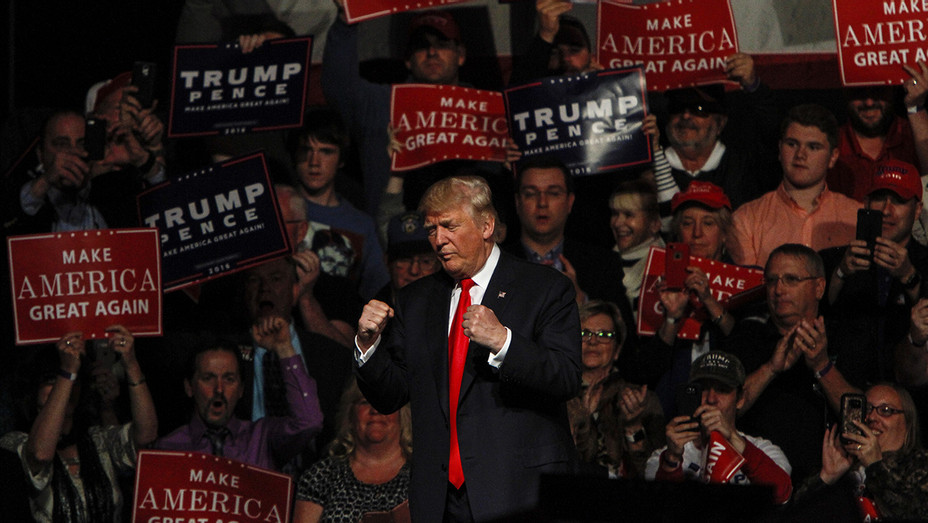 Donald Trump Rally Bangor Maine - H GEtty 2016