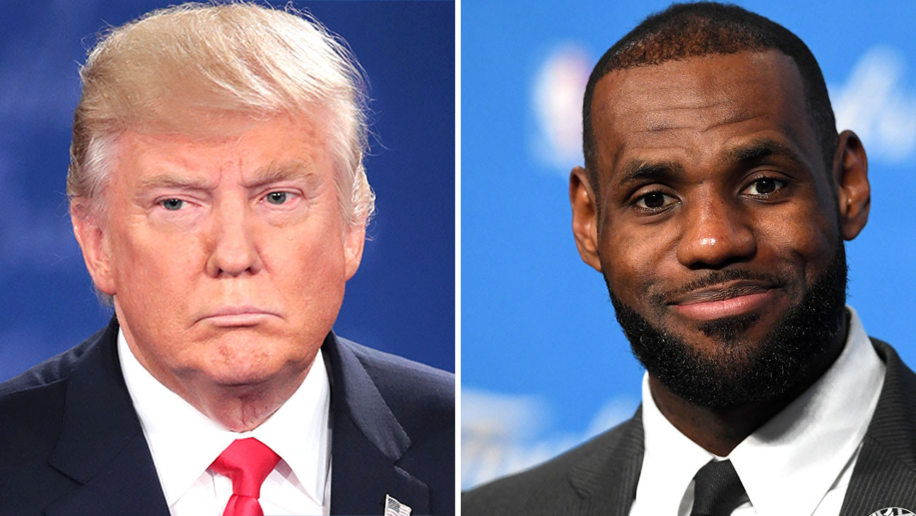 "Donald Trump Criticizes LeBron James for Being Outspoken ""Hater"""