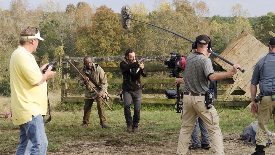 The Walking Dead -Season 6, Episode 15 -behind the scenes-H 2016