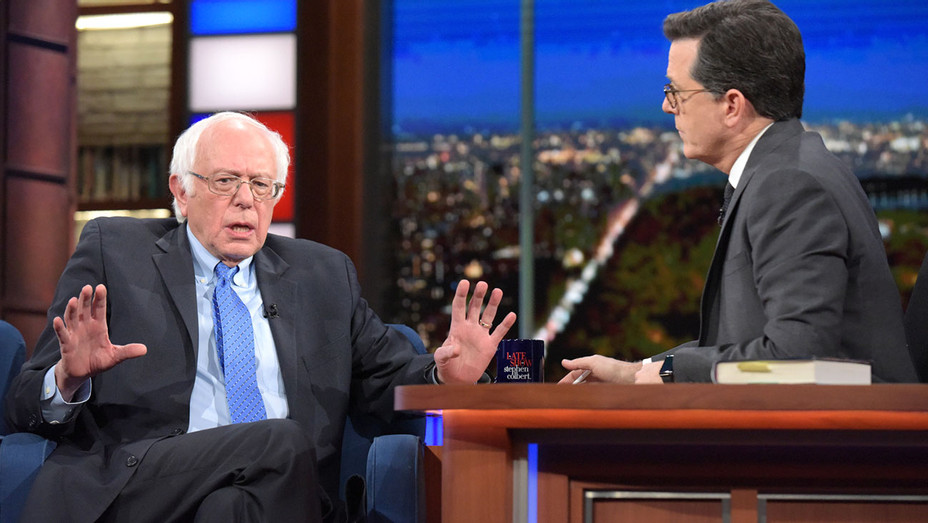 The Late Show with Stephen Colbert and  Senator Bernie Sanders -11/14/16 show- Publicity-H 2016