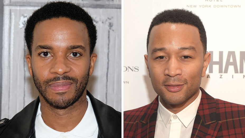 Andre Holland and John Legend - Split - H - 2016