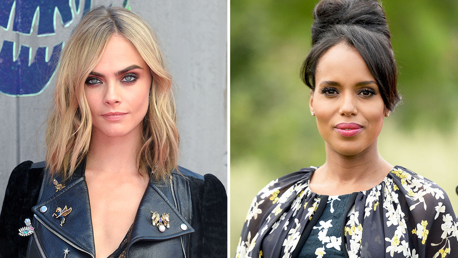 cara delevingne, kerry washington Split-Getty-H 2016
