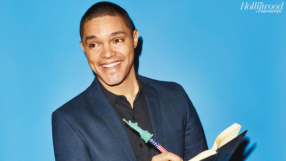 Trevor Noah - THR Photographed By Aaron Richter - H 2016