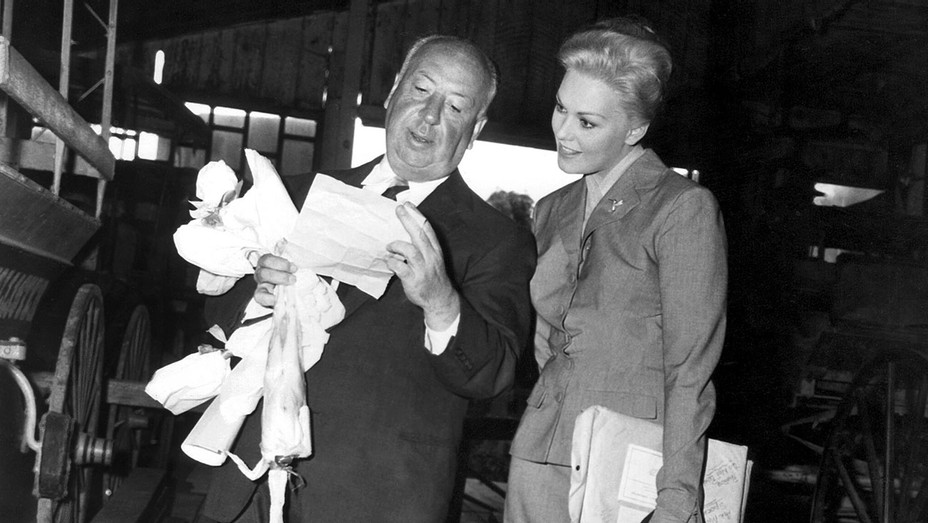 Vertigo Auction-Alfred Hitchcock and Kim Novak - Publicity -H 2016