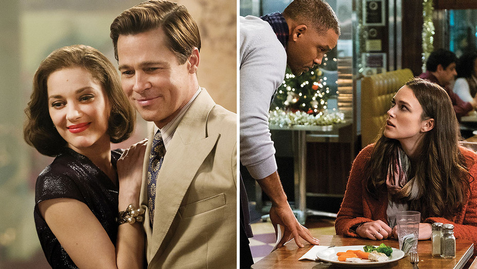 6 Holiday Movie Storylines -  Allied and Collateral Beauty - Publicity-H 2016