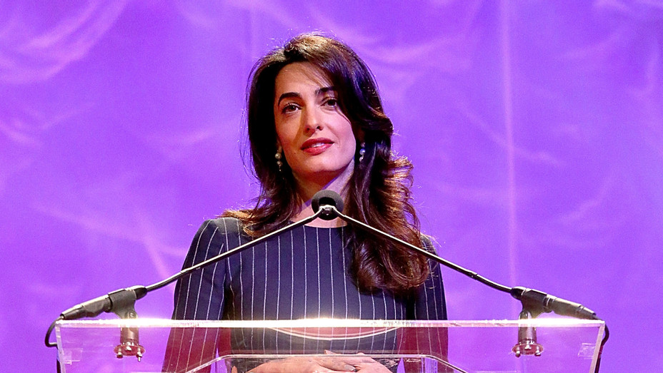 Amal Clooney at the 17th Annual Texas Conference For Women - Getty - H 2016