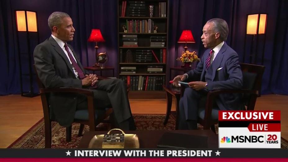 Barack Obama - Al Sharpton - Screenshot - H - 2016