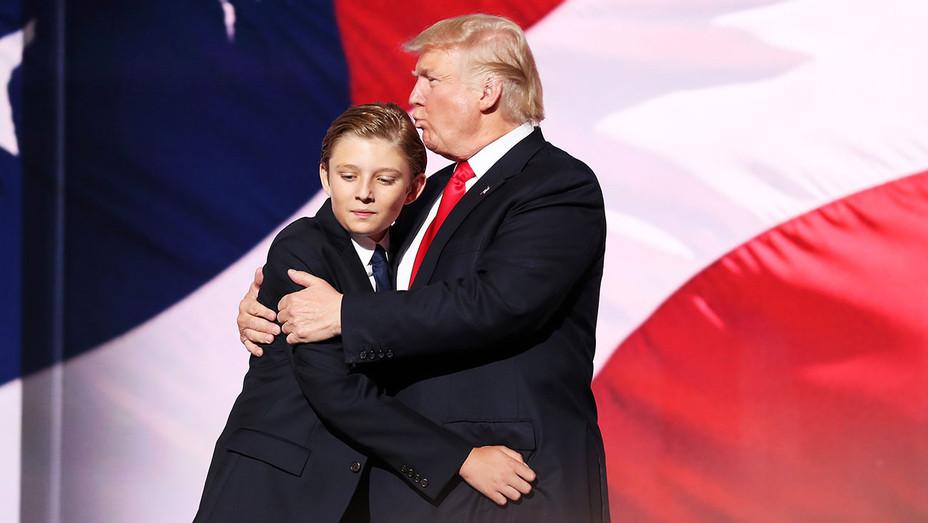 Barron Trump Donald Trump - Republican National Convention - Getty - H - 2016