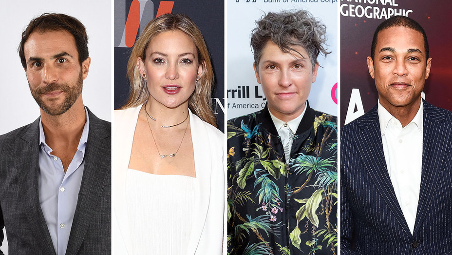 Ben Silverman, Kate Hudson, Jill Solway, Don Lemon_Split - Getty - H 2016