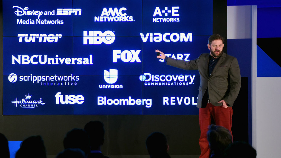 AT&T exec Brad Bentley at DirecTV Now launch event - Getty H 2016