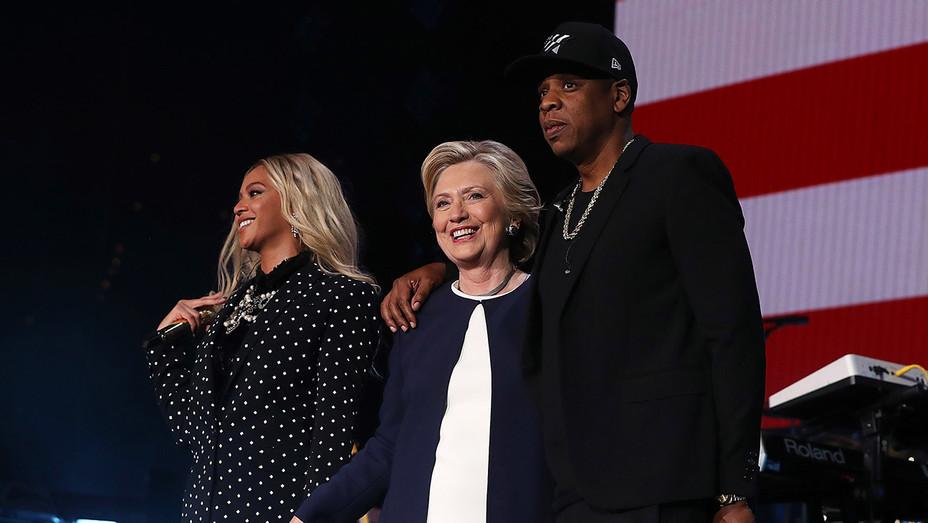 Beyonce_HRC_Jayz - Getty - H 2016
