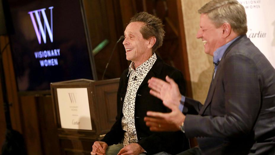 Brian Grazer Ted Sarandos Visionary WOman Panel - Getty - H - 2016