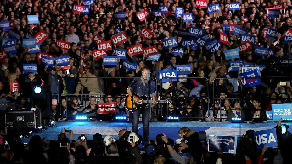 Bruce Springsteen_Clinton Event - Getty - H 2016