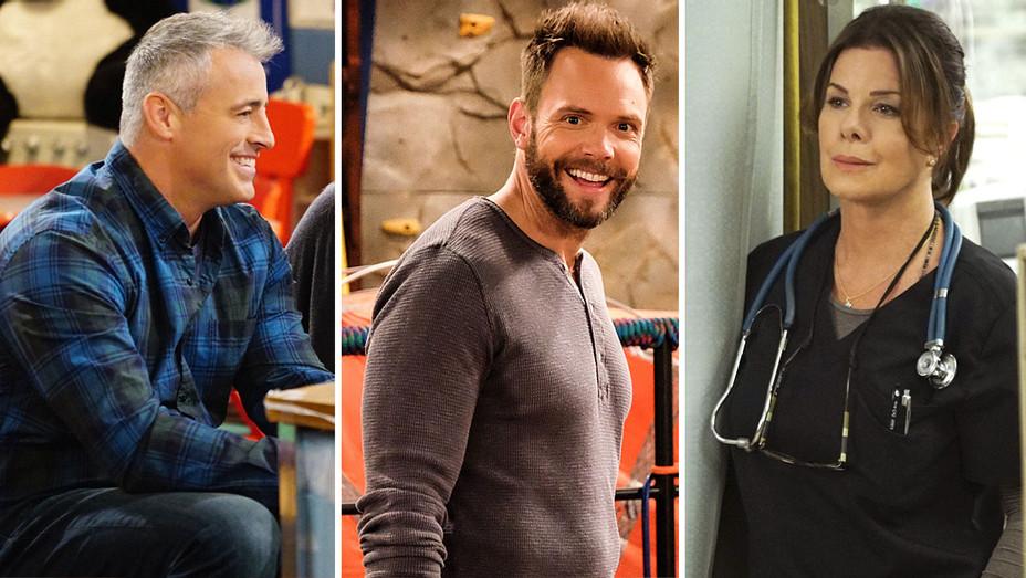 CBS -Split episodic - matt leblanc- joel mchale - marcia gay harden- H 2016