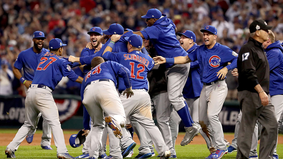Chicago Cubs Celebrating - Getty - H 2016