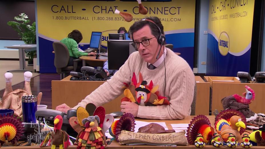 Stephen Colbert Butterball Hotline — H 2016
