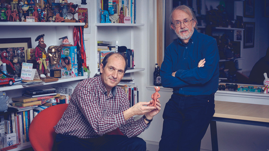 David Sproxton and Peter Lord Aardman Animation H 2016