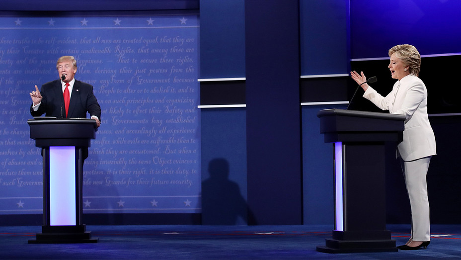 Donald Trump Hillary Clinton Debates Getty H 2016