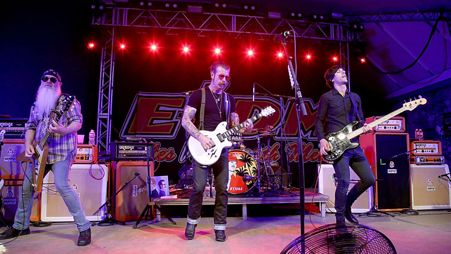 Eagles of Death Metal Performing - Getty - H 2016