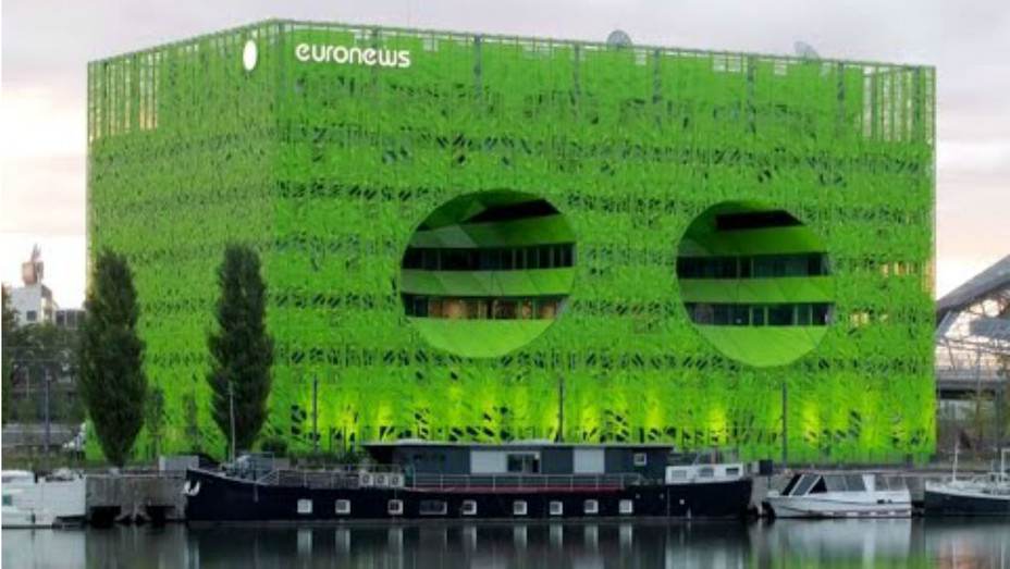 Euronews headquarters HQ - H 2016