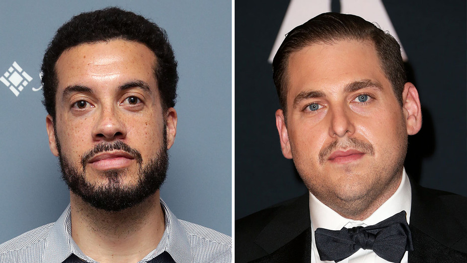 Ezra Edelman and Jonah Hill_Split - Getty - H 2016