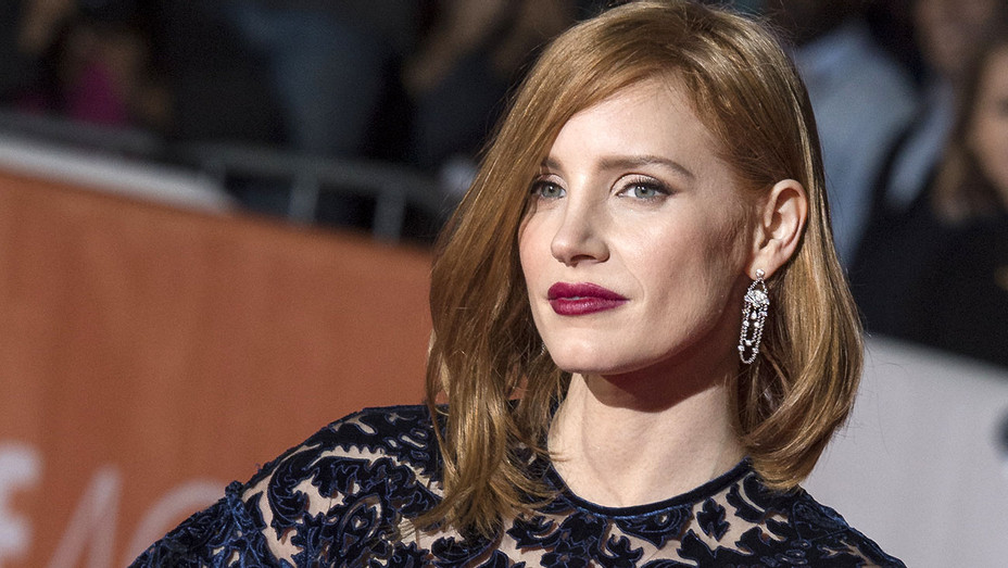 Jessica Chastain -world premiere for The Martian 2015 - Getty-H 2016