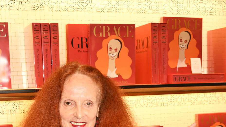 Grace Coddington - launch of new book Grace The American Vogue Years - Getty-P 2016