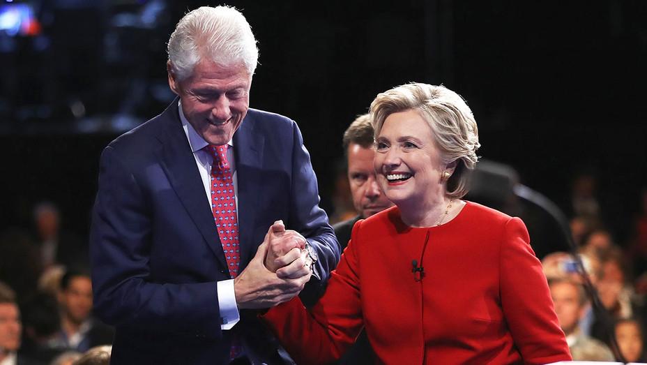 Hillary Clinton- Former U.S. President Bill Clinton -2016 Election- Getty-H 2016