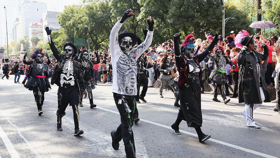 Day of the Dead at Av. Paseo De La Reforma - Mexico City, Mexico- Getty-H 2016